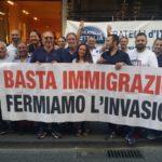 A Catania il sit-in di Fratelli d'Italia contro sbarco di clandestini