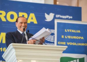 Silvio Berlusconi a Fiuggi