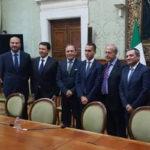 Paternò, questione Terremoto. Il sindaco Nino Naso incontra il vicepresidente del Consiglio Luigi Di Maio a Palazzo Chigi
