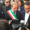 Il sindaco Naso con il ministro Di Maio