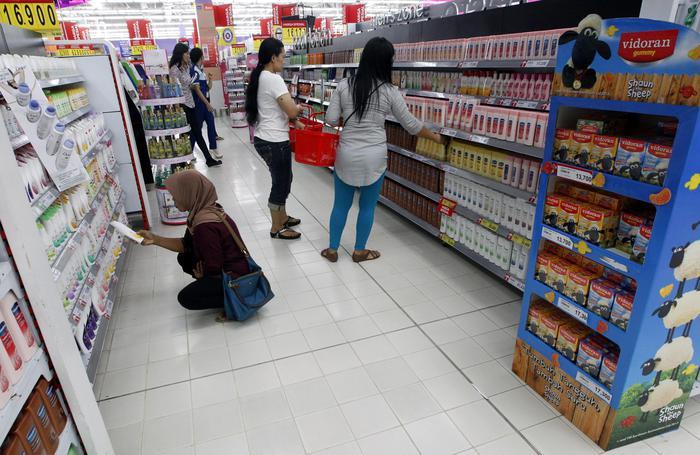 Indonesia's economy grow