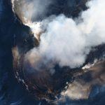 Vulcano Etna ripreso dall'alto. Immagini spettacolari