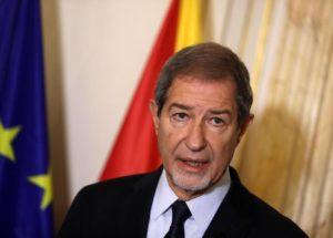 Nello Musumeci, presidente della Regione Sicilia.