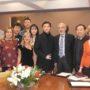 Rettore docenti e studenti cinesi