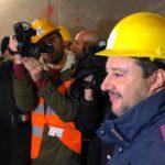 """Tav, Salvini a Chiomonte: """"Io sono per andare avanti'"""