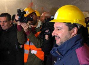 Tav: Salvini, visita cantiere a Chiomonte