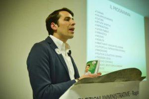 Emanuele Motta, candidato sindaco a Ragalna per le elezioni Amministrative del 28 aprile.