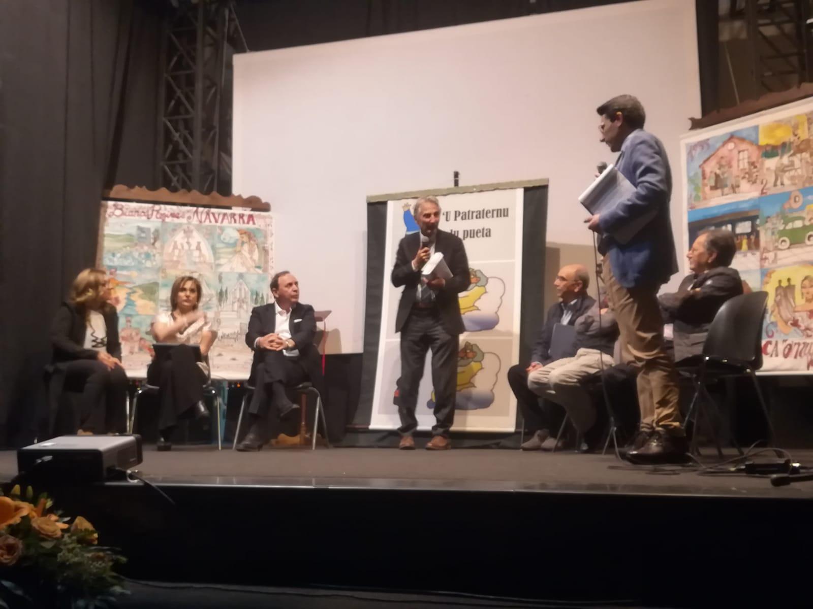 Un momento della manifestazione al Piccolo Teatro di Paternò