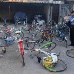 Palermo, ritrovato magazzino pieno di biciclette rubate