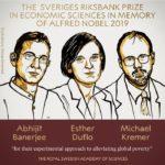 Premio Nobel economia 2019 a Duflo, Kremer e Banerjee