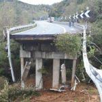 Cade un altro viadotto in Liguria