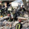 epa08029289 Rescue teams for natural disasters from Italy search for the remain bodies of people from the rubble of a building in Durres, Albania, 27 November 2019. Over 200 specialists from the EU has arrived in Albania to help after Albania was hit by a 6.4 magnitude earthquake on 26 November 2019, leaving until now over 30 people dead and 200 injured.  EPA/MALTON DIBRA