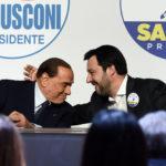 """Salvini: """"L'appoggio di Berlusconi è prezioso"""""""