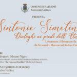 """Paternò, partono gli incontri culturali con """"Sintonie Simetine"""""""