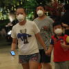epa08157012 Guests are seen wearing masks in Shangri-La's Rasa Sentosa Resort and Spa, after a guest was diagnosed with the Wuhan virus, in Singapore, 23 January 2020 (issued 24 January 2020). Singapore confirmed on 23 January the first case of the Wuhan coronavirus, detected in a Chinese national from Wuhan who arrived in Singapore on 20 January 2020. The outbreak of coronavirus has so far claimed 25 lives and infected more than 800 others, according to media reports. The virus has so far spread to the USA, Thailand, South Korea, Japan, Singapore and Taiwan  EPA/TIMOTHY DAVID/THE STRAITS TIMES SINGAPORE OUT/EDITORIAL USE ONLY