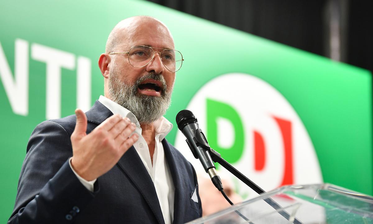 Stefano Bonaccini, presidente rieletto della Regione Emilia Romagna.