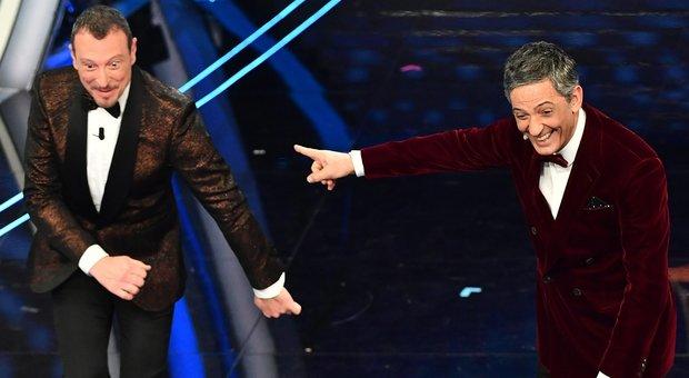 Amadeus e Fiorello a Sanremo 2020