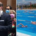 """Paternò, apre piscina all'aperto. Naso: """"Primo progetto con me nel 2004"""""""