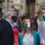 Stamattina successo per manifestazione unitaria Centrodestra contro Conte