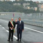 """Inaugurato il nuovo ponte """"San Giorgio"""" di Genova, simbolo di efficienza"""