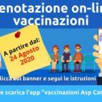 Vaccini: Asp Catania, già arrivate 1.410 prenotazioni online