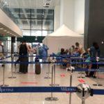 Coronavirus: a Malpensa al via primi tamponi su viaggiatori