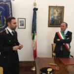 Paternò. Sindaco Naso accoglie il nuovo comandante dei Carabinieri