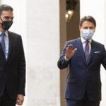 """Conte accoglie premier spagnolo: """"I nostri Paesi in situazioni critiche"""""""