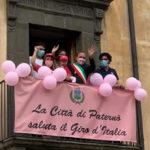 Il Giro d'Italia a Paternò. Una grande emozione per tutta la città