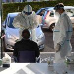 Covid: oggi in Italia 25.853 casi. I morti sono 722