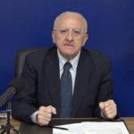 Corte dei Conti cita in giudizio il governatore Campania De Luca