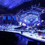 Sanremo 2021, la nuova spettacolare scenografia di Gaetano Castelli
