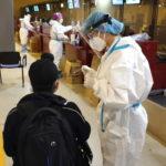 Covid. Il volo dall'India arrivato a Fiumicino: 23 positivi su 213