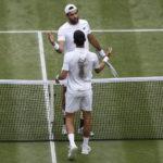 Non c'è la fa Matteo Berrettini. Wimbledon è ancora di Djokovic.